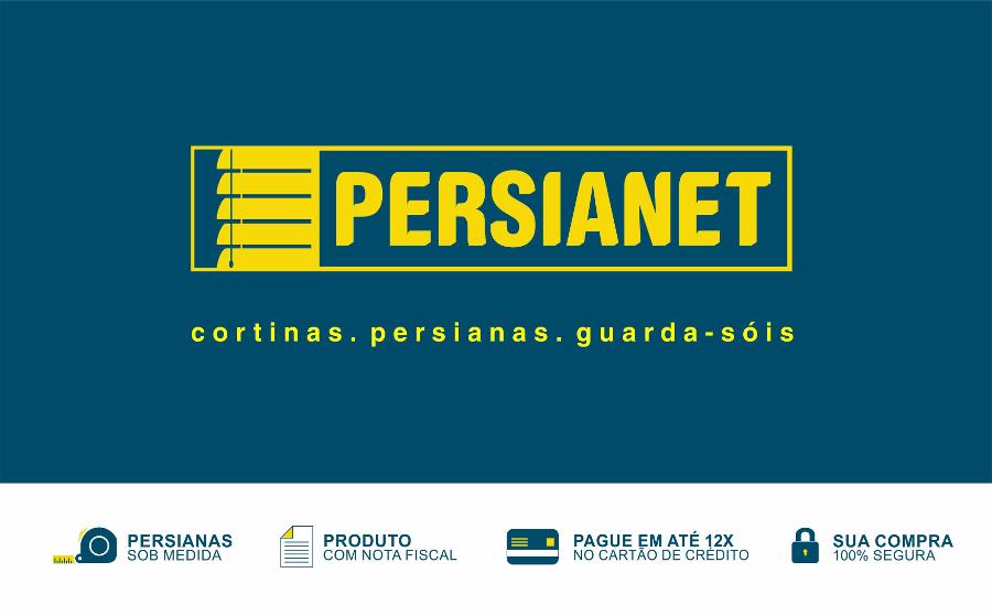 Cortina Persiana Romana Tecidos Translúcidos Sob Medida em Curitiba